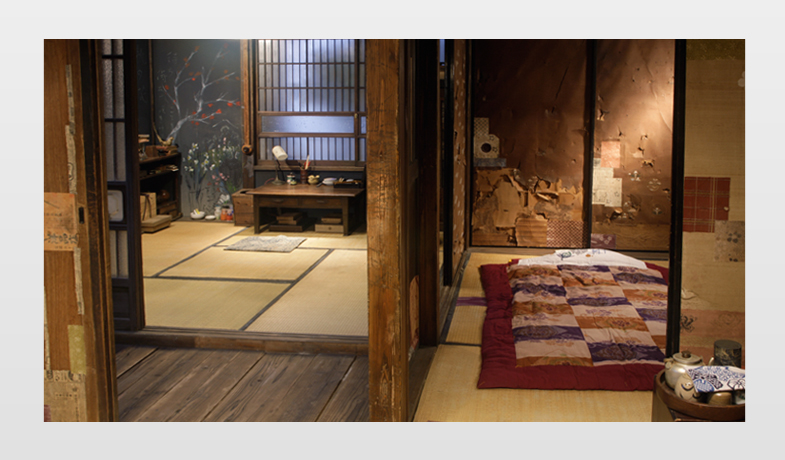 Study room and bed room, Otani's house